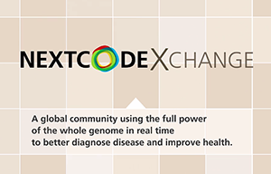 The NextCODE Exchange, a new browser-based hub, allows for real-time sharing of whole genome collections in a simple, consistent format.