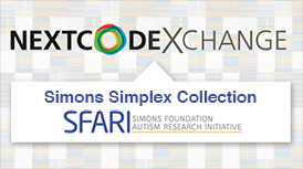 THE NEXTCODE Exchange is hosting the Simons Simplex Collection (SSC), a global resource for research on autism spectrum disorders comprising genomic data from nearly 2,800 families.